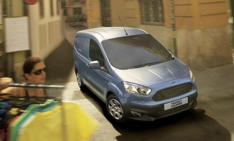Ford Transit Courier 1 0 Ecoboost Leader Van 6 Speed