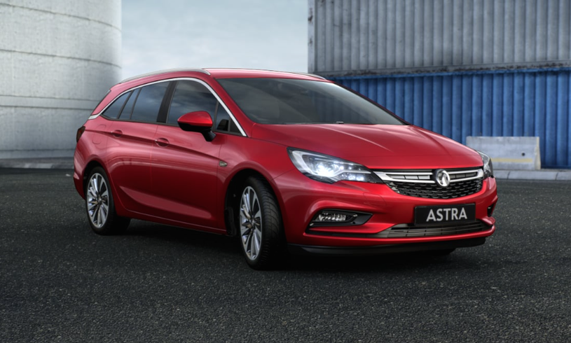 New Vauxhall Astra Sports Tourer 1.4T 16V 125 SRi 5dr