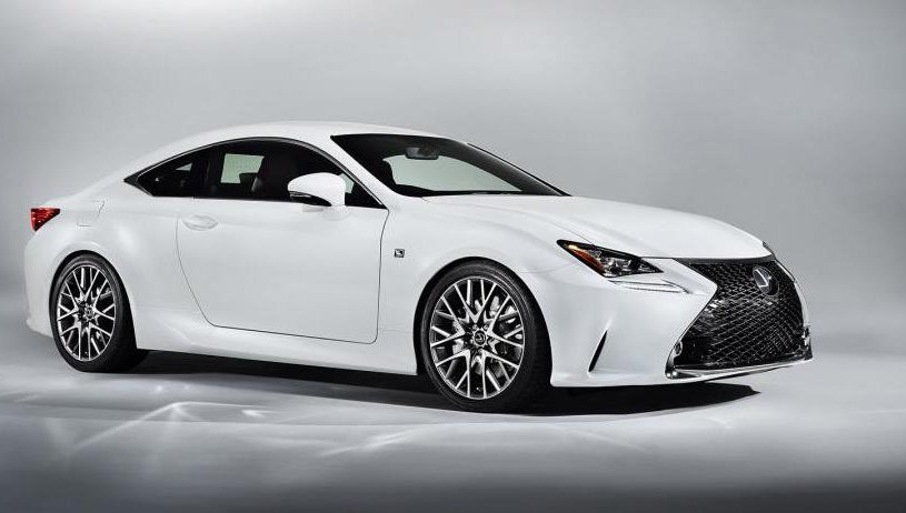 Lexus Rc Coupe 300h 2.5 2dr CVT [Leather/Sunroof]