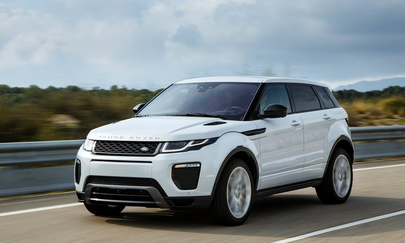 New Land Rover Range Rover Evoque