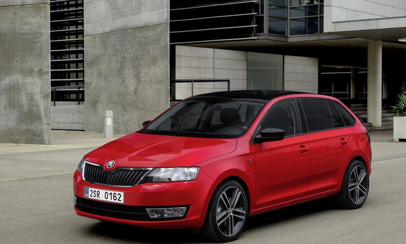 New Skoda Rapid Spaceback