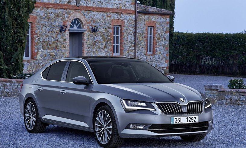 Skoda Superb Diesel Hatchback 2.0 TDI CR 190 Sport Line Plus 5dr DSG