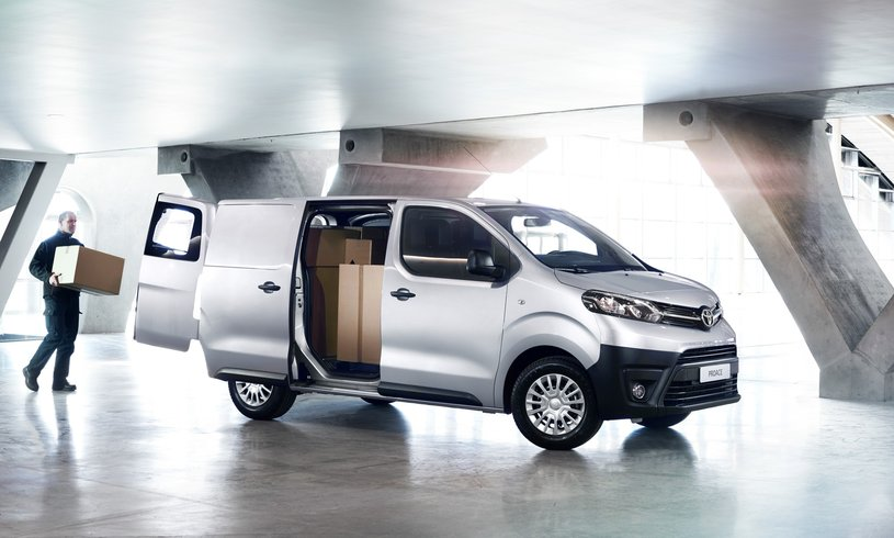 New Toyota Proace